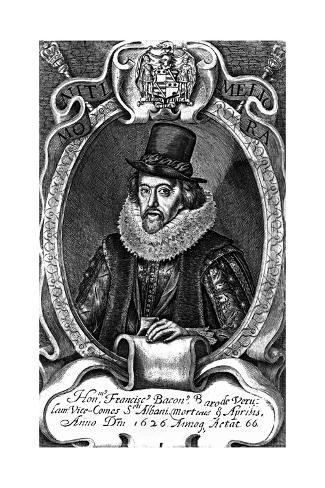 Lord Francis Bacon Stampa giclée