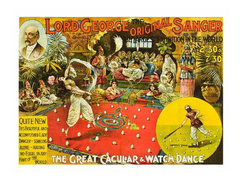 Lord George - Great Cacular and Watch Dance Premium Giclee Print