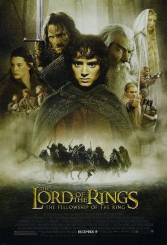 Lord Of The Rings: Fellowship Of the Ring Double-sided poster