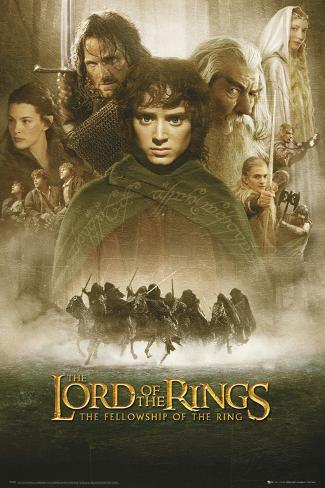 Lord of the Rings-Fellowship of the Ring Póster
