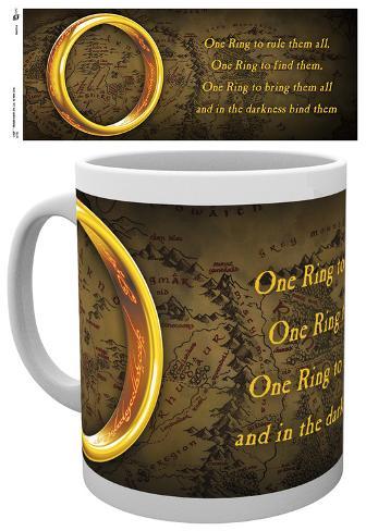 Lord Of The Rings One Ring Mug Mug
