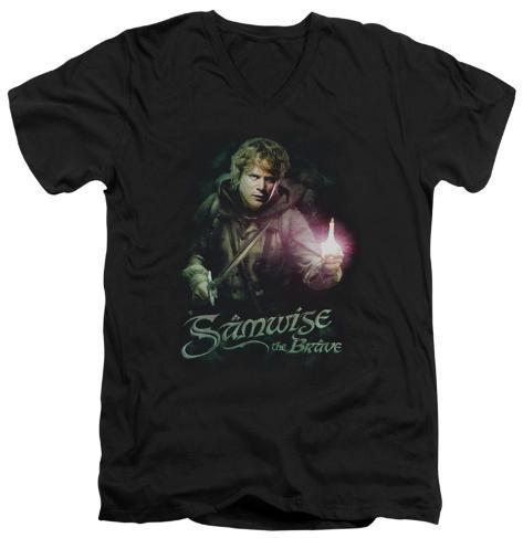 Lord Of The Rings - Samwise The Brave V-Neck V-Necks