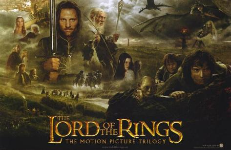 Lord of the Rings - Trilogy Impressão original