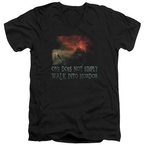Lord Of The Rings - Walk In Mordor V-Neck V-Necks
