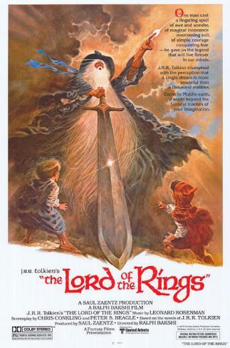 Lord of the Rings Masterprint