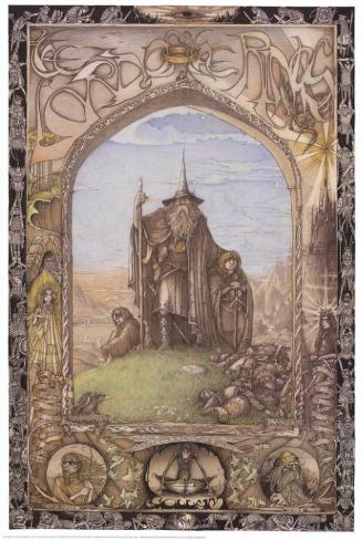 Lord of the Rings Masterprint