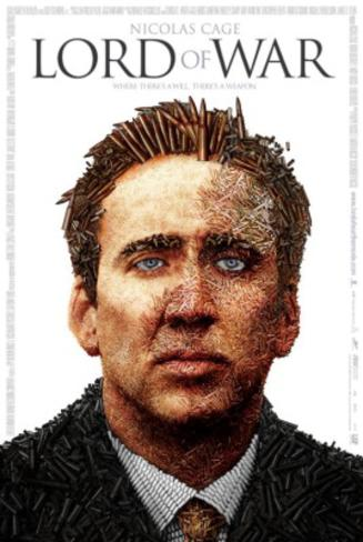 Lord of War (Nicolas Cage) Movie Poster Double-sided poster