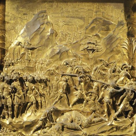 Saul and David, Detail Stories from the Old Testament Lámina giclée
