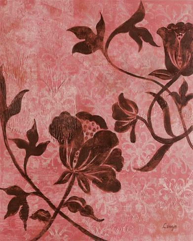 La Vie en Rose II Framed Art Print