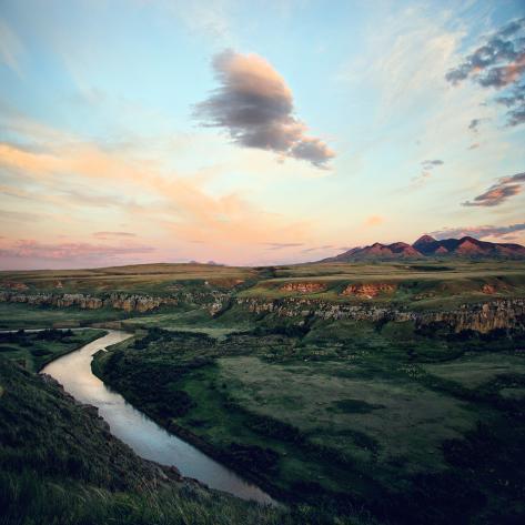 Grasslands National Park Photographic Print