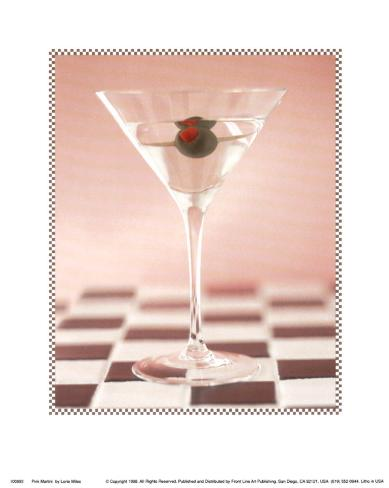 Pink Martini Art Print