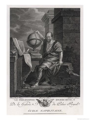 Democritus Greek Philosopher and Scientist Giclee Print