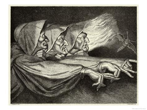 Macbeth, The Witches Giclee Print