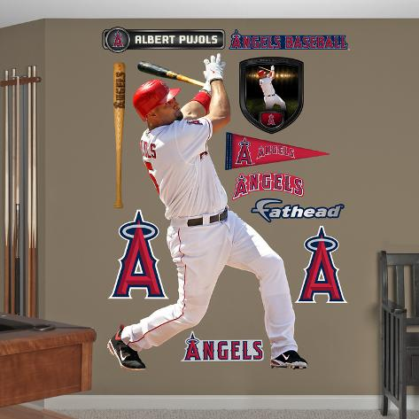 Los Angeles Angels Albert Pujols Wall Decal Sticker Wall Decal