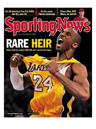 Los Angeles Lakers' Kobe Bryant - May 19, 2008 Stretched Canvas Print