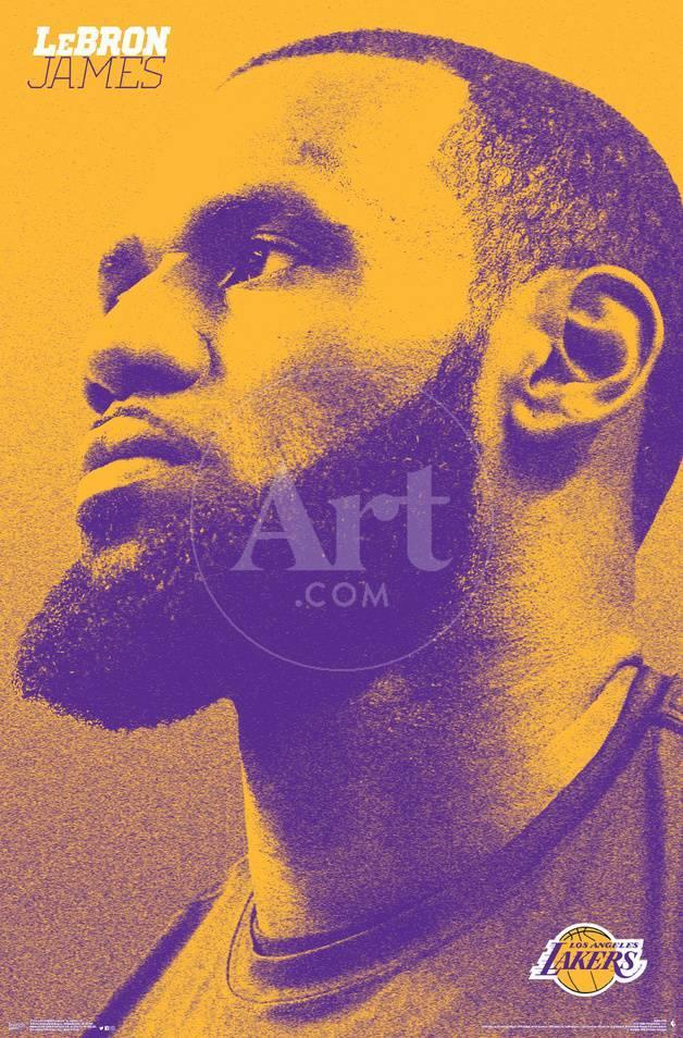 Los Angeles Lakers Lebron James Posters Allposters Com