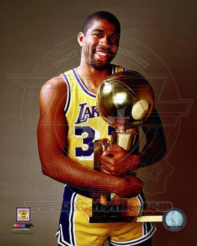 d507ceab1 Los Angeles Lakers - Magic Johnson Photo Photo at AllPosters.com