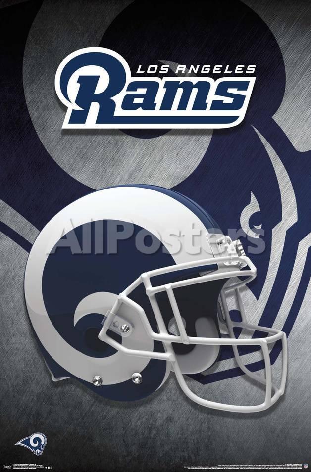 Los Angeles Rams Helmet 18 Photo Allposters Com