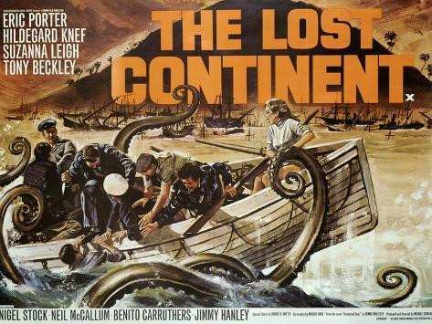 Lost Continent (The) Art Print