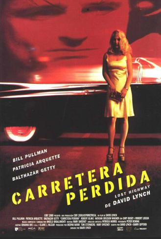 Lost Highway - Spanish Style Poster