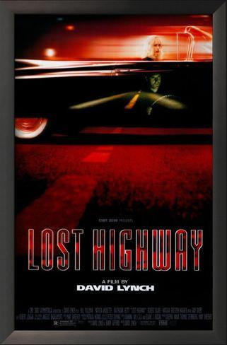 Lost Highway Framed Art Print