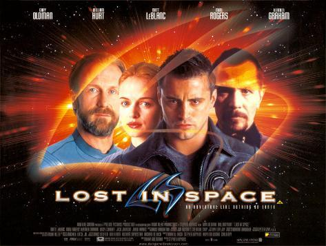 Lost in Space Poster double face