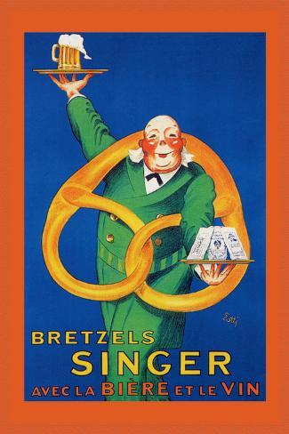 Bretzels Singer, Avec la Biere et la Vin Seinätarra