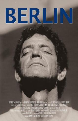 Lou Reed's Berlin Masterprint