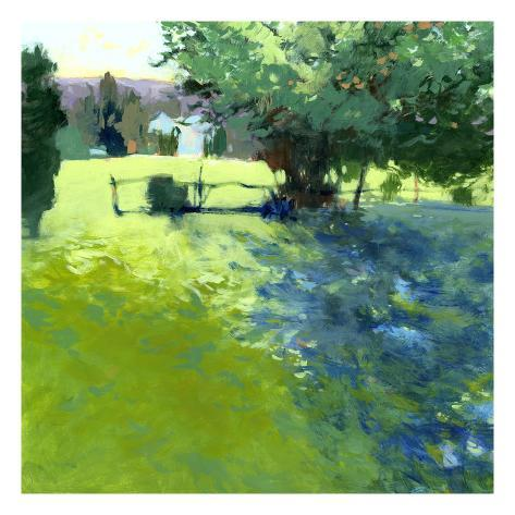 Field with House Giclee Print