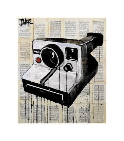 The Polaroid Giclee Print