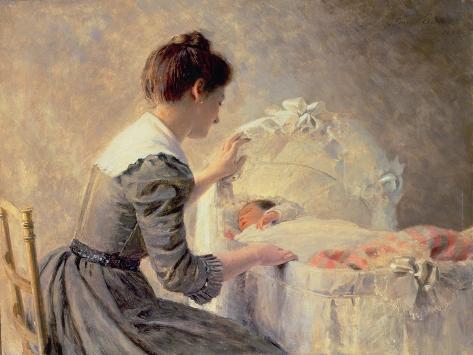 Motherhood, 1898 Giclee Print
