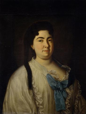 Catherine I, 1720s Giclee Print