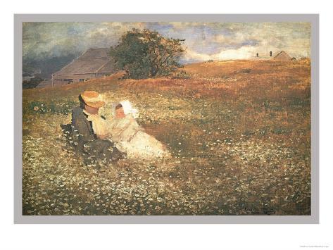 At Irvington-On-Hudson Art Print