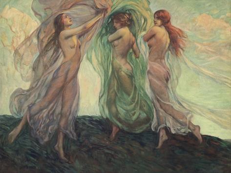 Three Dancers Photographic Print