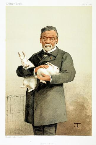Louis Pasteur, French Chemist and Founder of Modern Bacteriology, 1887 Giclee Print