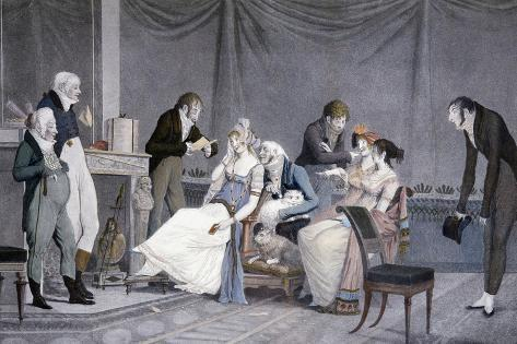 The Visits Giclee Print