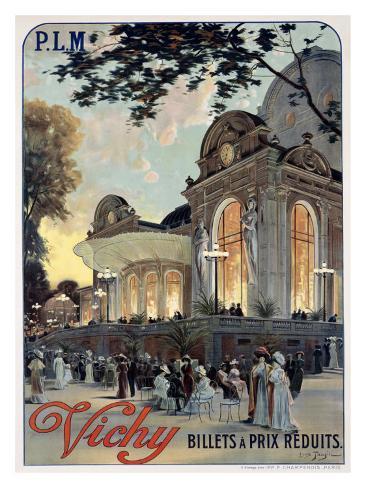 Vichy Giclee Print