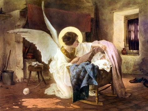 The Guardian Angel, 1926 Lámina giclée
