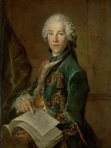 Portrait of Arnoldus Van Rijneveld Art Print