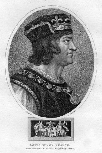 Louis XII, King of France Giclee Print