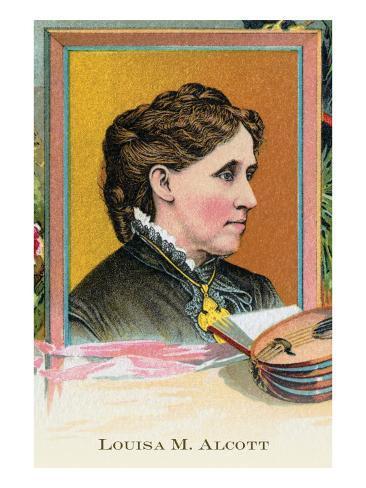 Louisa M. Alcott Art Print