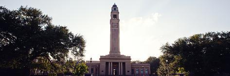 Louisiana State University - Memorial Tower Panorama Photo