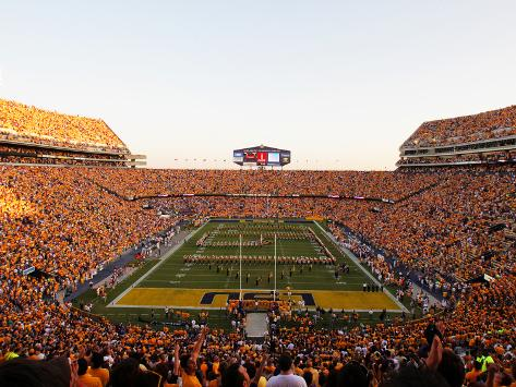 Louisiana State University - Tiger Stadium Endzone Photo