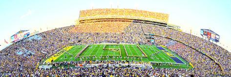 Louisiana State University - Tiger Stadium Stretched Canvas Print