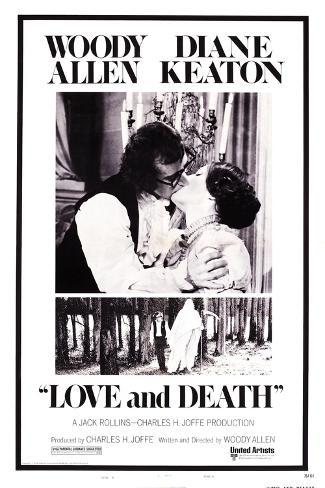 Love and Death, Woody Allen, Diane Keaton, 1975 Art Print