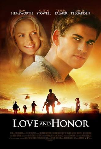 Love and Honor Movie Poster Masterprint