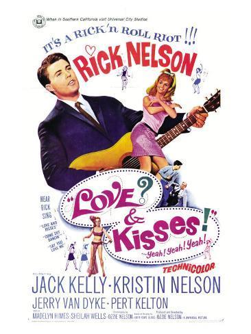 Love and Kisses, 1965 Art Print