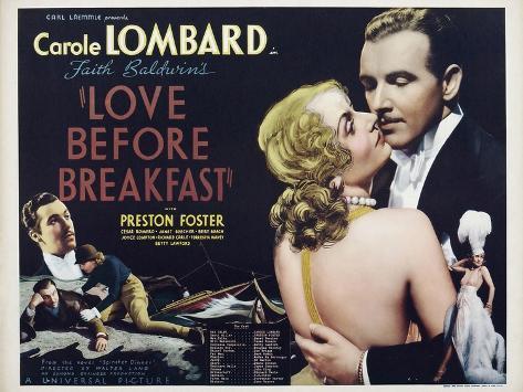 Love Before Breakfast, 1936 Art Print