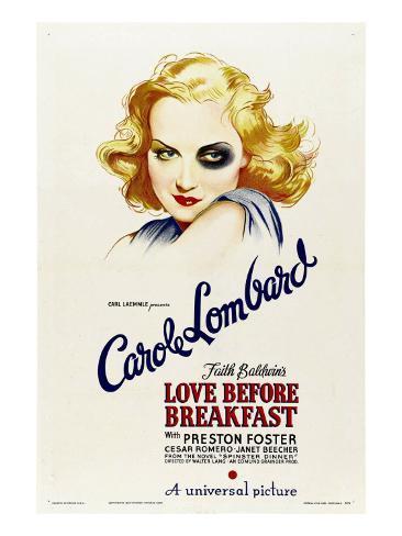 Love before Breakfast, Carole Lombard, 1936 Photo