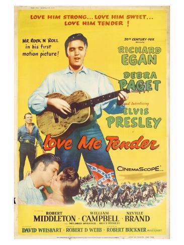 Love Me Tender, 1956 Premium Giclee Print